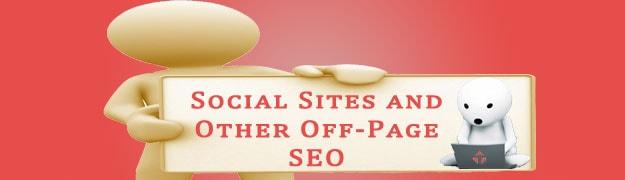 Социальные сайты и другое SEO вне страницы