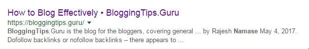Название и метаописание Google Search